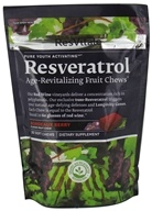 ResVitale - Resveratrol Age Revitalizing Fruit Chews Bordeaux Berry - 30 Chews - $18.99
