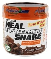 Nutri-Fusion Systems - HCG Fusion Meal Replacement Shake Creamy Chocolate - 1 lb.