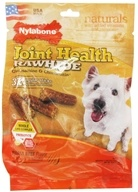 Nylabone - Joint Health Rawhide With Glucosamine & Chondroitin Regular Dog Treats Roast Beef - 32 Stick(s) (018214825593)