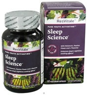 ResVitale - Pure Youth Activating Sleep Science - 60 Vegetarian Capsules by ResVitale