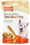 Nylabone - Healthy Edibles Corn & Wheat Free Regular Dog Treats Chicken - 8 Chew(s)