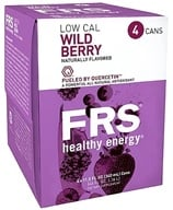 Image of FRS Healthy Energy - Low Calorie Energy Drink 4 x 11.5 oz Cans Wild Berry - 4 Pack