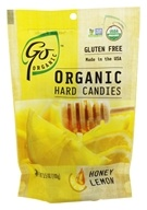 Go Naturally - Organic Hard Candies Honey Lemon - 3.5 oz. by Go Naturally