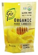 Go Naturally - Organic Hard Candies Honey Lemon - 3.5 oz. - $2.57