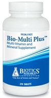 Image of Biotics Research - Bio-Multi Plus Iron Free - 270 Tablets