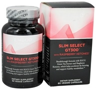 Fembody Nutrition - Slim Select GT300 with Raspberry Ketones - 60 Vegetarian Capsules OVERSTOCKED