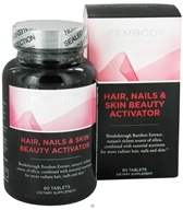Fembody Nutrition - Hair, Nails & Skin Beauty Activator - 60 Tablets by Fembody Nutrition