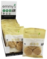 Emmy's Organics - Macaroons Coconut Vanilla - 2 oz., from category: Health Foods