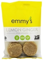 Image of Emmy's Organics - Macaroons Lemon Ginger - 2 oz.