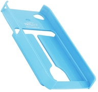 TRTL BOT - Minimalist 4 Eco-Friendly iPhone 4 / 4S Shell with Card Holder Blue - CLEARANCE PRICED