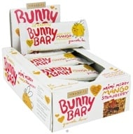18 Rabbits - Bunny Bar Organic Granola Bar Mimi Merry Mango Strawberry - 1.05 oz. by 18 Rabbits
