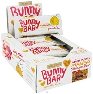 18 Rabbits - Bunny Bar Organic Granola Bar Mimi Merry Mango Strawberry - 1.05 oz.