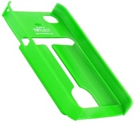 TRTL BOT - Minimalist 4 Eco-Friendly iPhone 4 / 4S Shell with Card Holder Green - CLEARANCE PRICED by TRTL BOT