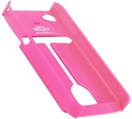 TRTL BOT - Minimalist 4 Eco-Friendly iPhone 4 / 4S Shell with Card Holder Pink - CLEARANCE PRICED