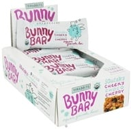 18 Rabbits - Bunny Bar Organic Granola Bar Squeaky Cheeky Choco Cherry - 1.05 oz. by 18 Rabbits