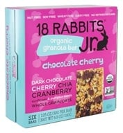 Image of 18 Rabbits - Bunny Bar Organic Granola Bar Squeaky Cheeky Choco Cherry - 6.3 oz.