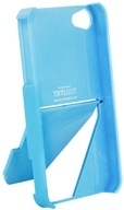 Image of TRTL BOT - Stand 4 Eco-Friendly 3 Way Stand for iPhone 4 / 4S Blue - CLEARANCE PRICED