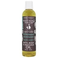 Soothing Touch - Bath Body & Massage Oil Invigorating Muscle Comfort - 8 oz., from category: Personal Care
