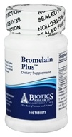 Image of Biotics Research - Bromelain Plus - 100 Tablets
