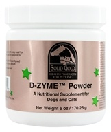 Solid Gold - D-ZYME Powder For Cats & Dogs - 6 oz. by Solid Gold