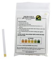 Solid Gold - pH Test Strips - 50 Count by Solid Gold