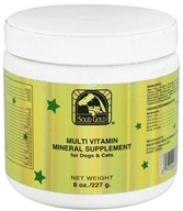 Solid Gold - Multi Vitamin Mineral Supplement For Dogs & Cats - 8 oz.
