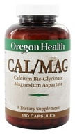 Oregon Health - CAL/MAG - 180 Capsules, from category: Nutritional Supplements
