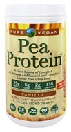 Pure Vegan - Pea Protein Vanilla - 2.2 lbs., from category: Health Foods