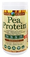 Pure Vegan - Pea Protein Vanilla - 2.2 lbs. by Pure Vegan