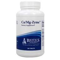 Biotics Research - Ca/Mg-Zyme - 360 Tablets, from category: Professional Supplements