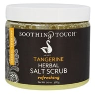 Soothing Touch - Herbal Salt Scrub Refreshing Tangerine - 20 oz.