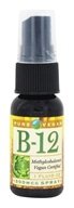 Pure Vegan - B-12 Spray 500 mcg. - 1 oz. (013886710017)