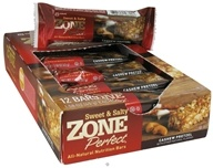 Zone Perfect - All-Natural Nutrition Bar Cashew Pretzel - 1.58 oz. by Zone Perfect