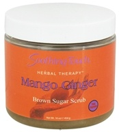 Image of Soothing Touch - Brown Sugar Scrub Mango Ginger - 16 oz.