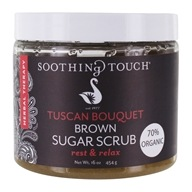Soothing Touch - Brown Sugar Scrub Rest & Relax Tuscan Bouquet - 16 oz.
