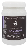 Soothing Touch - Bath Salts Calming Lavender - 32 oz. by Soothing Touch