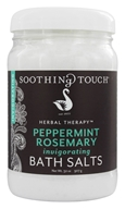 Image of Soothing Touch - Bath Salts Invigorating Peppermint Rosemary - 32 oz.