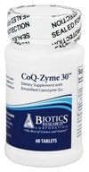Biotics Research - CoQ-Zyme 30 mg. - 60 Tablets, from category: Professional Supplements