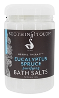 Soothing Touch - Bath Salts Purifying Eucalyptus Spruce - 32 oz.