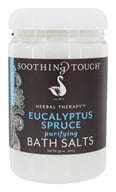 Image of Soothing Touch - Bath Salts Purifying Eucalyptus Spruce - 32 oz.