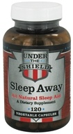 Under the Shield - Sleep Away - 120 Vegetarian Capsules DAILY DEAL