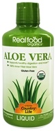 Country Life - Real Food Organics Liquid Aloe Vera 100% Inner Fillet - 32 oz.