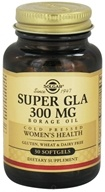 Solgar - Super GLA 300 mg. - 30 Softgels (033984026759)