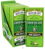 The Tea Room - Organic Chocolate Fusion Bar 60% Cacao Dark Chocolate Green Earl Grey - 1.8 oz., from category: Health Foods