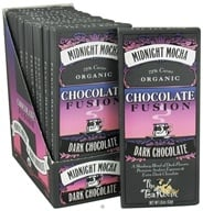 The Tea Room - Organic Chocolate Fusion Bar 72% Cacao Dark Chocolate Midnight Mocha - 1.8 oz. (898330001244)