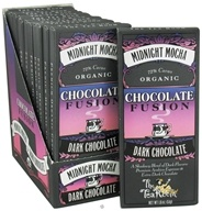 The Tea Room - Organic Chocolate Fusion Bar 72% Cacao Dark Chocolate Midnight Mocha - 1.8 oz.