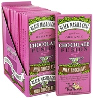 The Tea Room - Organic Chocolate Fusion Bar 38% Cacao Milk Chocolate Black Masala Chai - 1.8 oz. (898330001572)