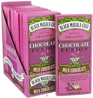 The Tea Room - Organic Chocolate Fusion Bar 38% Cacao Milk Chocolate Black Masala Chai - 1.8 oz. - $3.13