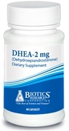 Image of Biotics Research - DHEA 2 mg. - 60 Capsules