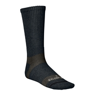 Incrediwear - Bamboo Charcoal Socks Hiking Tall Green/Grey - Large